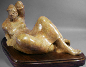"Shirley Thomson-Smith, Santo Domingo Summer, Bronze Edition of 15, 26"" x 10"" x 11"""