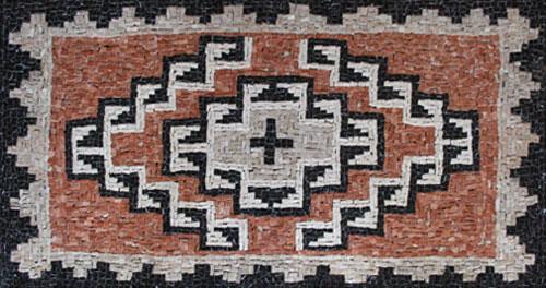 Anne Ziemienski Marble Mosaic Ganado Style